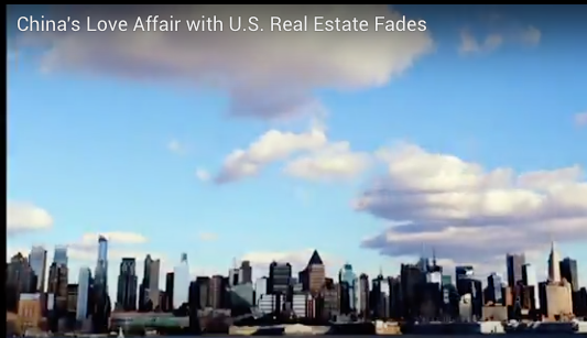 China's Love Affair with U.S. Real Estate Fades